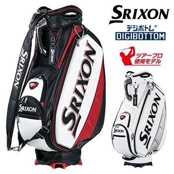 ダンロップ日本正規品 SRIXON(スリクソン) ツアー仕様 プロレプリカモデル キャディバッグ 2018モデル ツアープロ使用モデル 「GGC-S143」