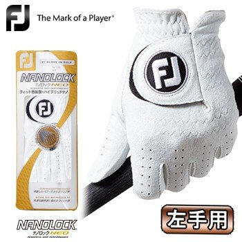 FOOTJOY フットジョイ デポー 日本正規品 NANOLOCK 流行のアイテム NEO ナノロック ゴルフグローブ FGNN ネオ 左手用 メンズ