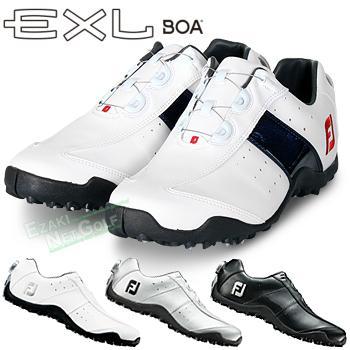 FOOTJOY フットジョイ 日本正規品 信用 EXL Spikeless EXLスパイクレスボア EE ウィズ:W Boa スパイクレスゴルフシューズ 限定特価