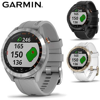 GARMIN(ガーミン)日本正規品 スマートウォッチ機能搭載距離測定器 腕時計型GPSゴルフナビ APPROACH(アプローチ) S40 「010-02140」2019新製品