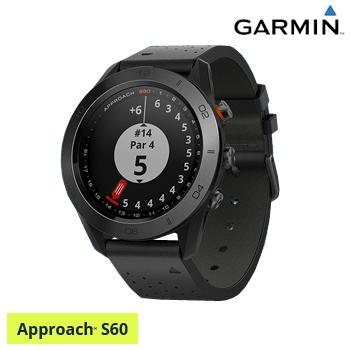 ガーミン(GARMIN)日本正規品 高性能GPS距離測定器 腕時計型GPSゴルフナビ APPROACH(アプローチ) S60 Ceramic(セラミック)モデル「010-01702」
