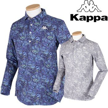 KAPPA GOLF カッパゴルフ 秋冬ウエア 長袖シャツ KC852LS03