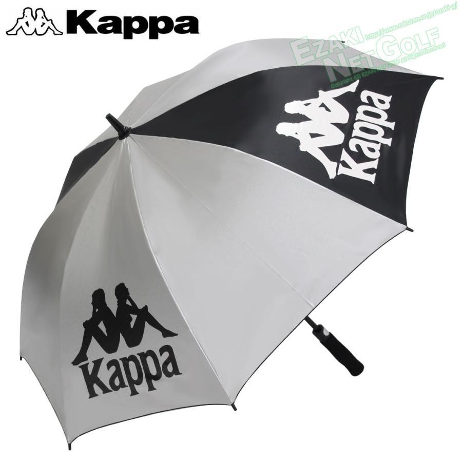 KAPPA GOLF 数量限定 カッパゴルフ ファッション通販 日本正規品 アンブレラ 晴雨兼用ゴルフ用ジャンプ銀傘 2020モデル KGA18AZ35