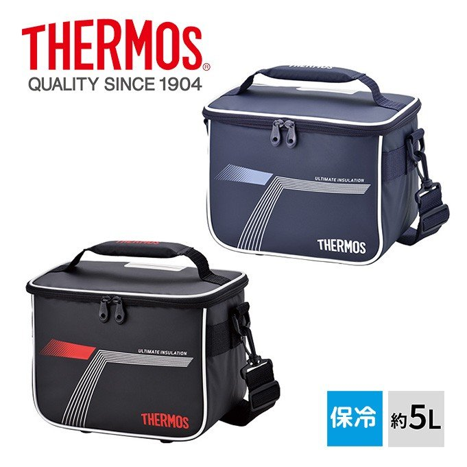 THERMOS サーモス 日本最大級の品揃え 爆安 スポーツクーラー 保冷バッグ 5L REI-0051