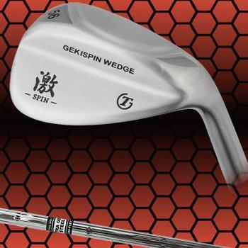 トライアルゴルフ日本正規品GEKI-SPIN WEDGE激スピンウェッジ専用スチールシャフト