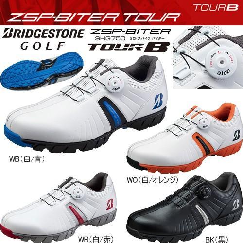 ブリヂストン TOUR B ゼロ・スパイク バイター スパイクレス ゴルフシューズ a top リール ノブ レイシング システム 「BRIDGESTONE GOLF SHG750」