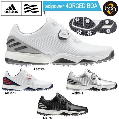 2019年モデル日本正規品 アディダス アディパワー フォージド ボア ソフトスパイク ゴルフシューズ 「Adidas adipower 4ORGED BOA」 あすつく対応