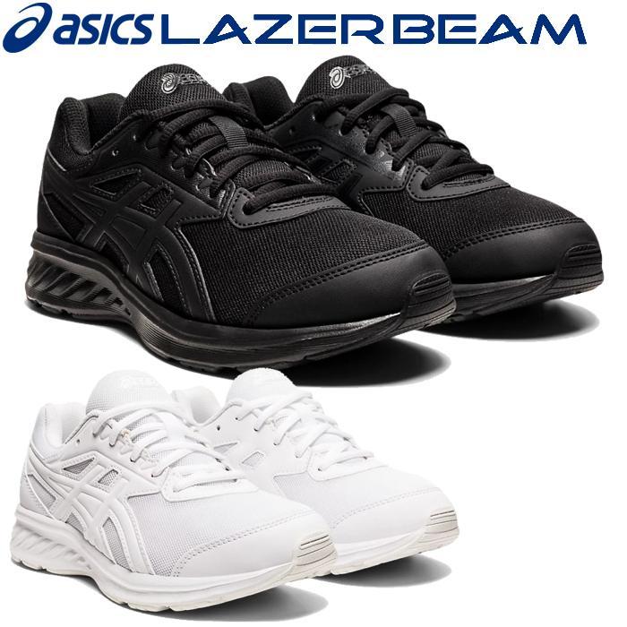 期間限定送料無料 アシックス LAZERBEAM JF レーザービーム ジェイエフ キッズ ジュニア ブラック 黒靴 靴 1154A105 黒スニーカー 今だけスーパーセール限定 期間限定送料無料 シューズ くつ 子供靴