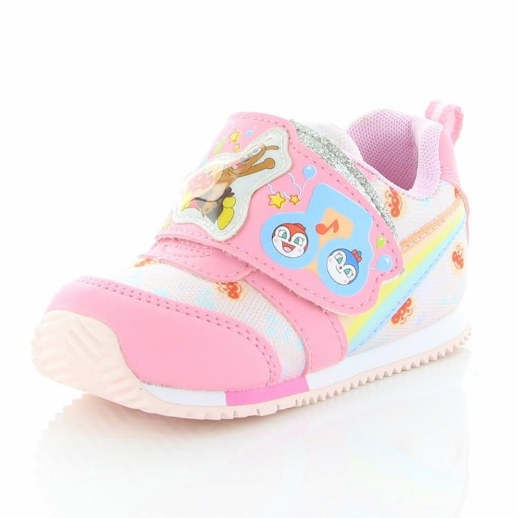 卸売り 期間限定BUYBUYタイムセール ムーンスター アンパンマン APM B30 アンパンマンベビーカジュアルシューズ 国内送料無料 子供靴 ピンク 12115884 返品不可