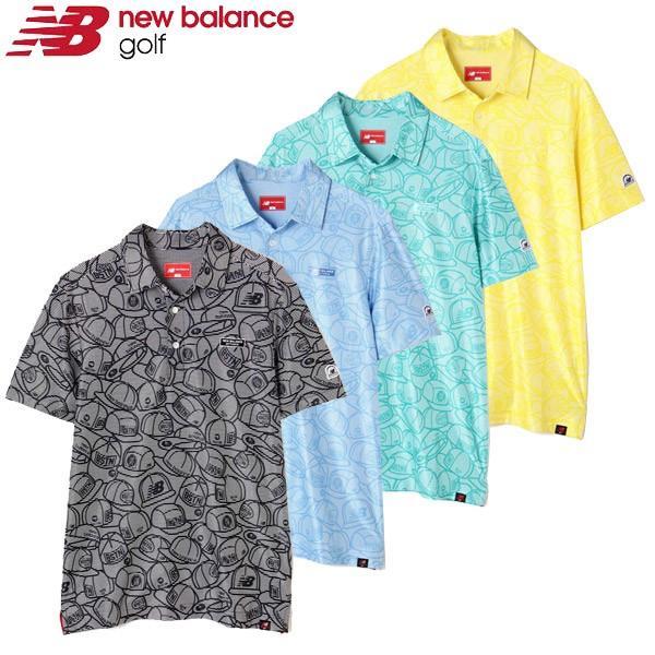ニューバランス ゴルフウェア メンズ ポロシャツ 012-9168009 2019春夏