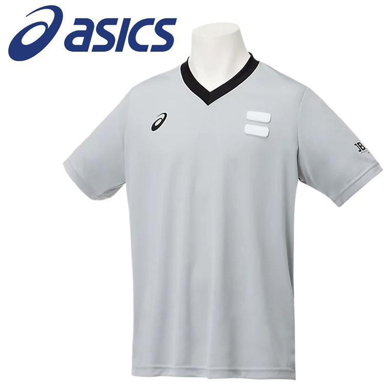 メール便送料無料 アシックス 新商品!新型 レフリーシャツ 2063A233-021 メンズ レディース 新着セール