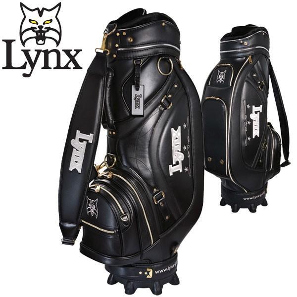 リンクス マスターモデル XI ロイヤル ブラック キャディバッグ Lynx Golf