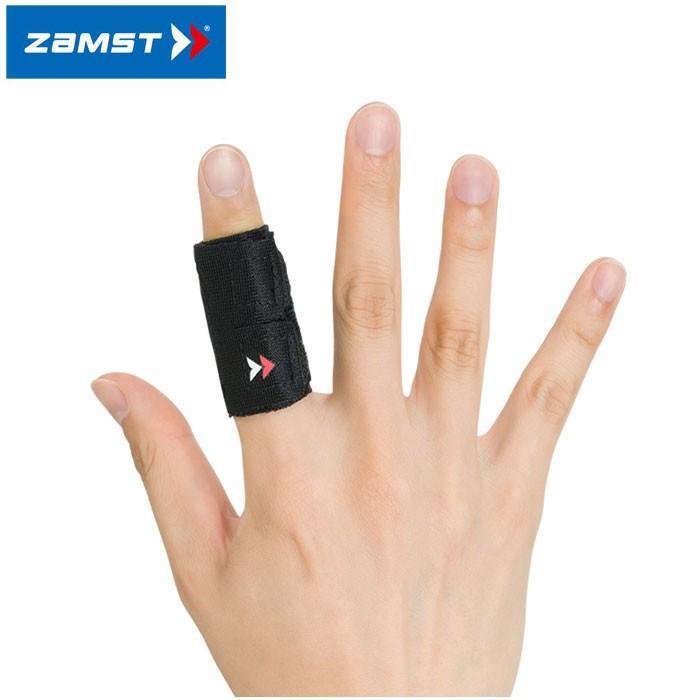 2点までメール便送料無料 ザムスト フィンガーラップ 1本指タイプ 買取 ZAMST 返品不可 指用サポーター 豪華な