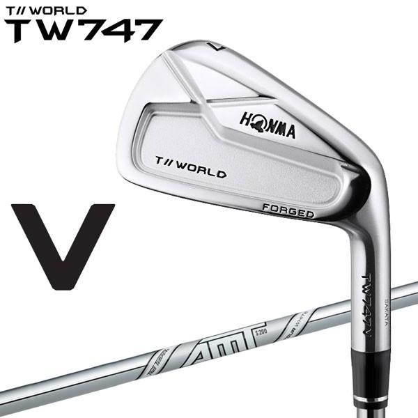 ホンマ ゴルフ TW747 V アイアン 6本セット AMT TOUR 白い 2019モデル