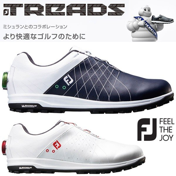 フットジョイ FJ トレッド ボア ゴルフシューズ メンズ FJ TREADS Boa 2018モデル