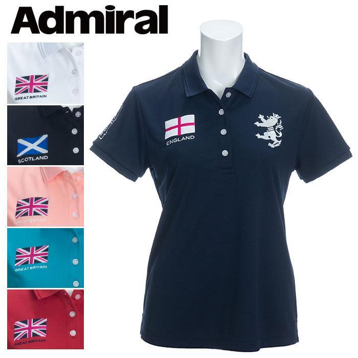 アドミラル フラッグ ポロシャツ レディース ADLA026 ゴルフウェア ご予約品 春夏 セール特別価格