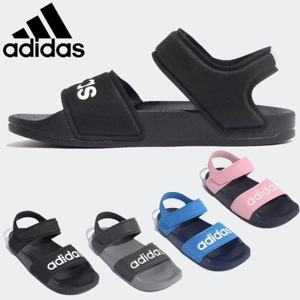 アディダス アディレッタ 人気 おすすめ サンダル キッズ ジュニア 今季も再入荷 子供靴 ADILETTE K DQY65 SANDAL