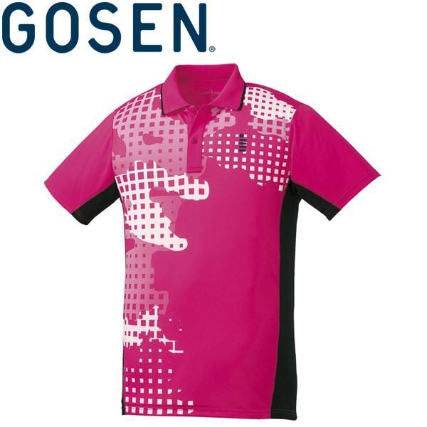 【2点までメール便送料無料】ゴーセン ゲームシャツ メンズ レディース T1802-81