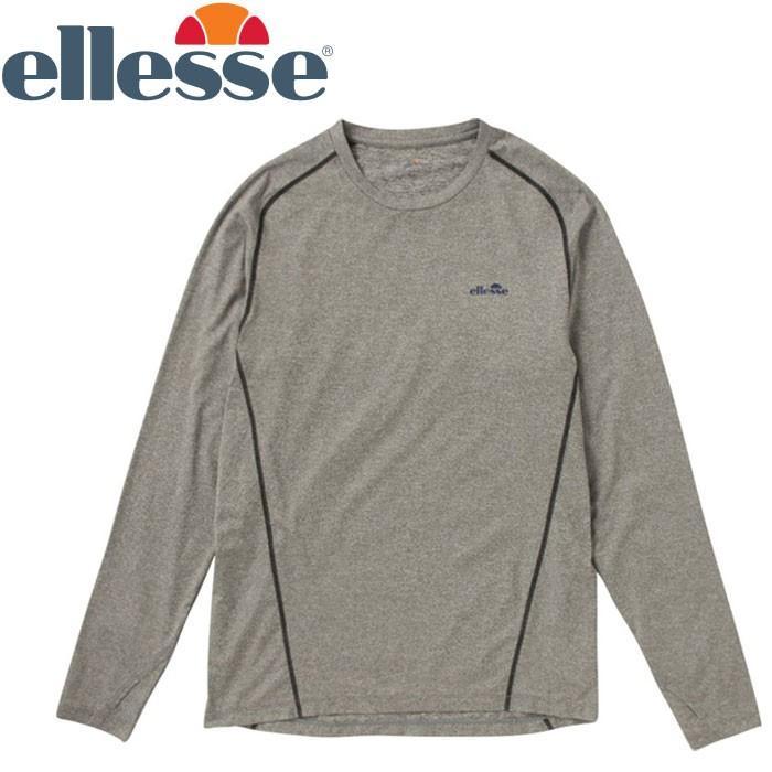 エレッセ ロングスリーブサーマルクルー Tシャツ メンズ EM08110-IG