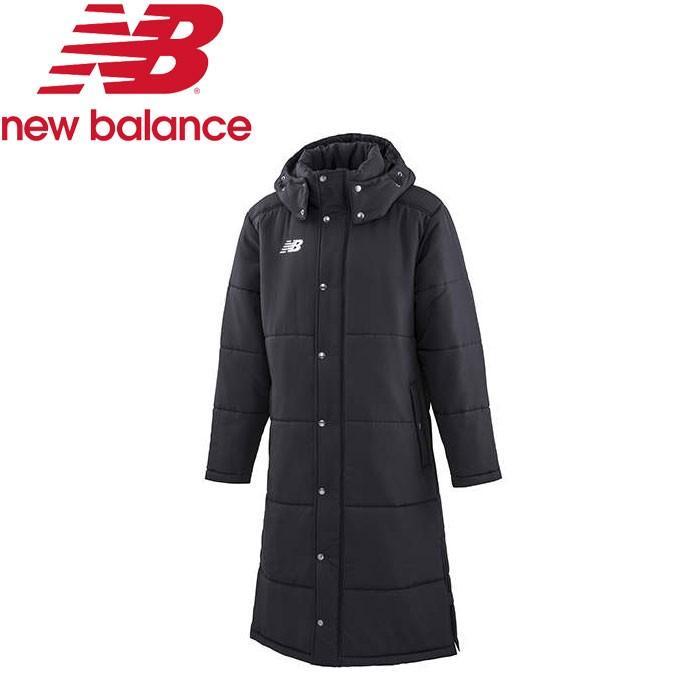 ニューバランス 中綿 パテッド ロングコート ベンチコート JMJF8986-BK メンズ・ユニセックス New Balance 19FW