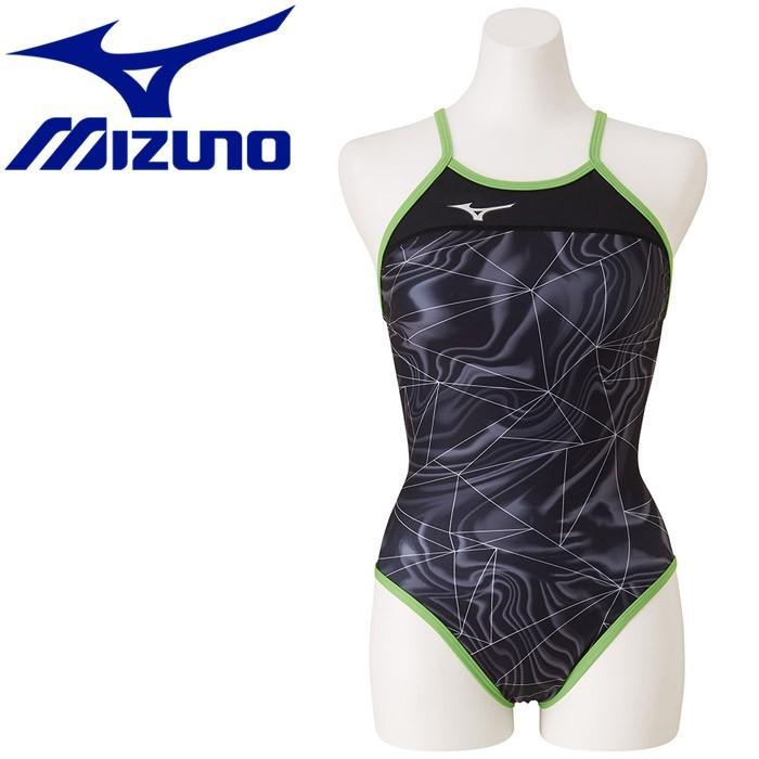 ミズノ 水泳 エクサースーツ ミディアムカット 練習水着 レディース N2MA976609