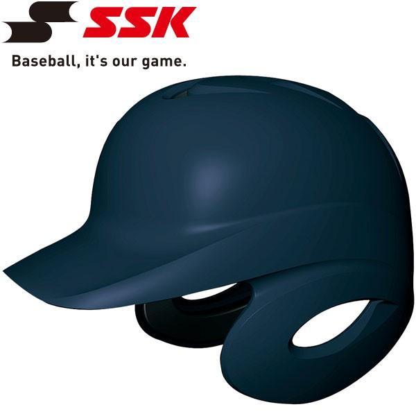 エスエスケイ SSK 野球 Proedge 硬式打者用両耳付きヘルメット 艶消し H8500M-70m