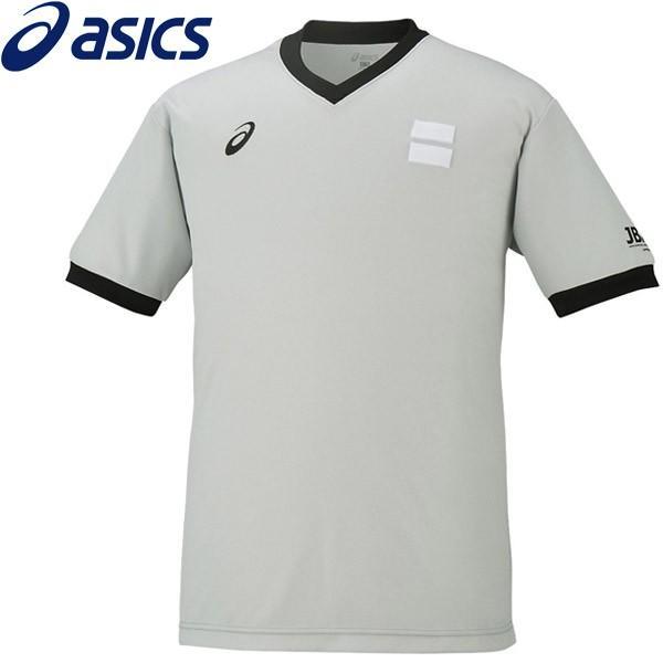 1点までメール便送料無料 アシックス 正規逆輸入品 バスケットボール XB8003-12 レフリーシャツ メンズ 限定特価