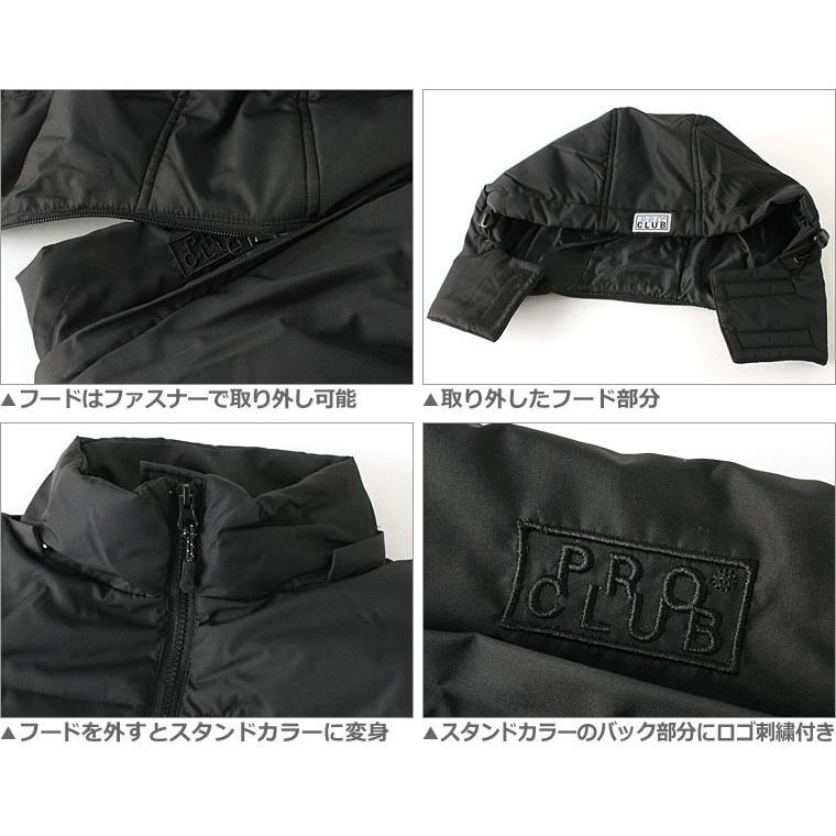 プロクラブ 中綿ジャケット メンズ 大きいサイズ USAモデル ブランド PRO CLUB 防寒 撥水 アウター ブルゾン XL LL f-box 06