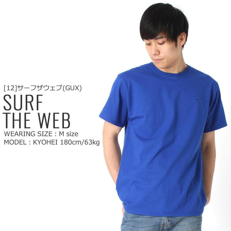 Champion チャンピオン tシャツ usa 大きいサイズ メンズ tシャツ メンズ ブランド アメカジ 刺繍ロゴ|f-box|15