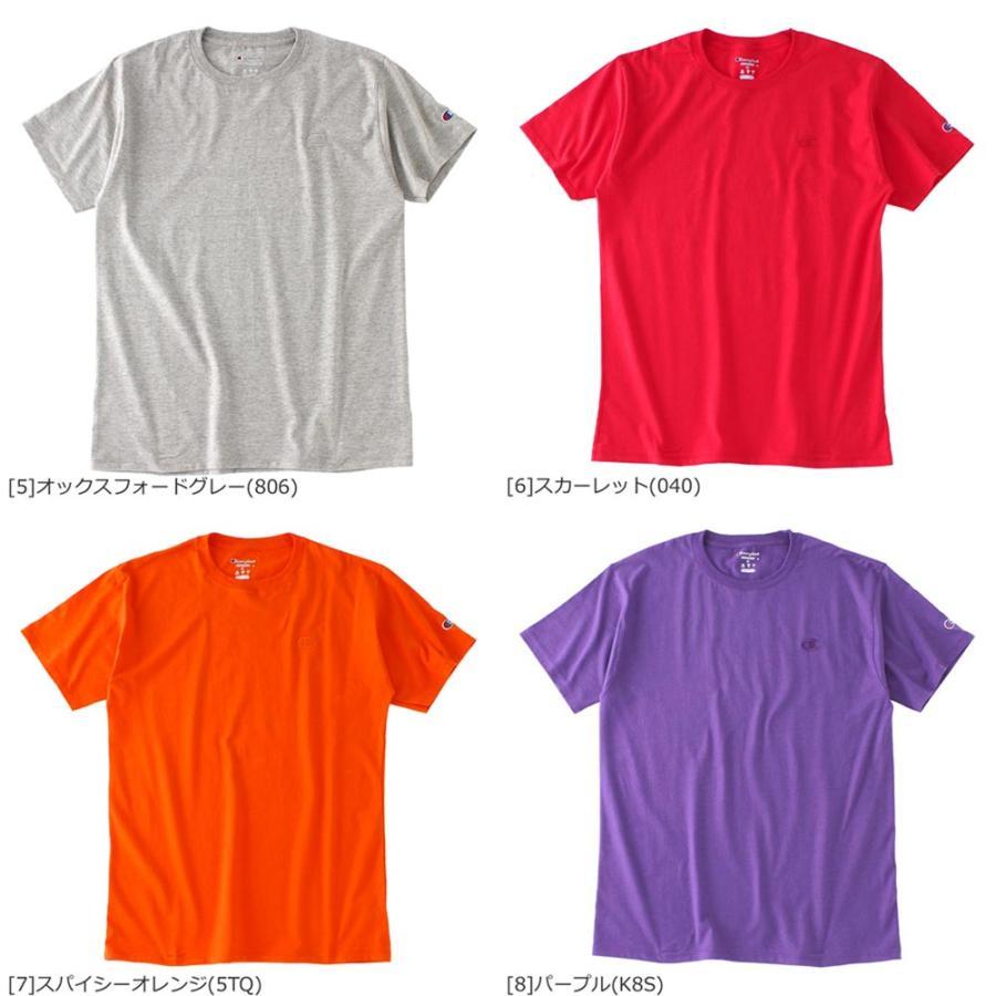 Champion チャンピオン tシャツ usa 大きいサイズ メンズ tシャツ メンズ ブランド アメカジ 刺繍ロゴ|f-box|04