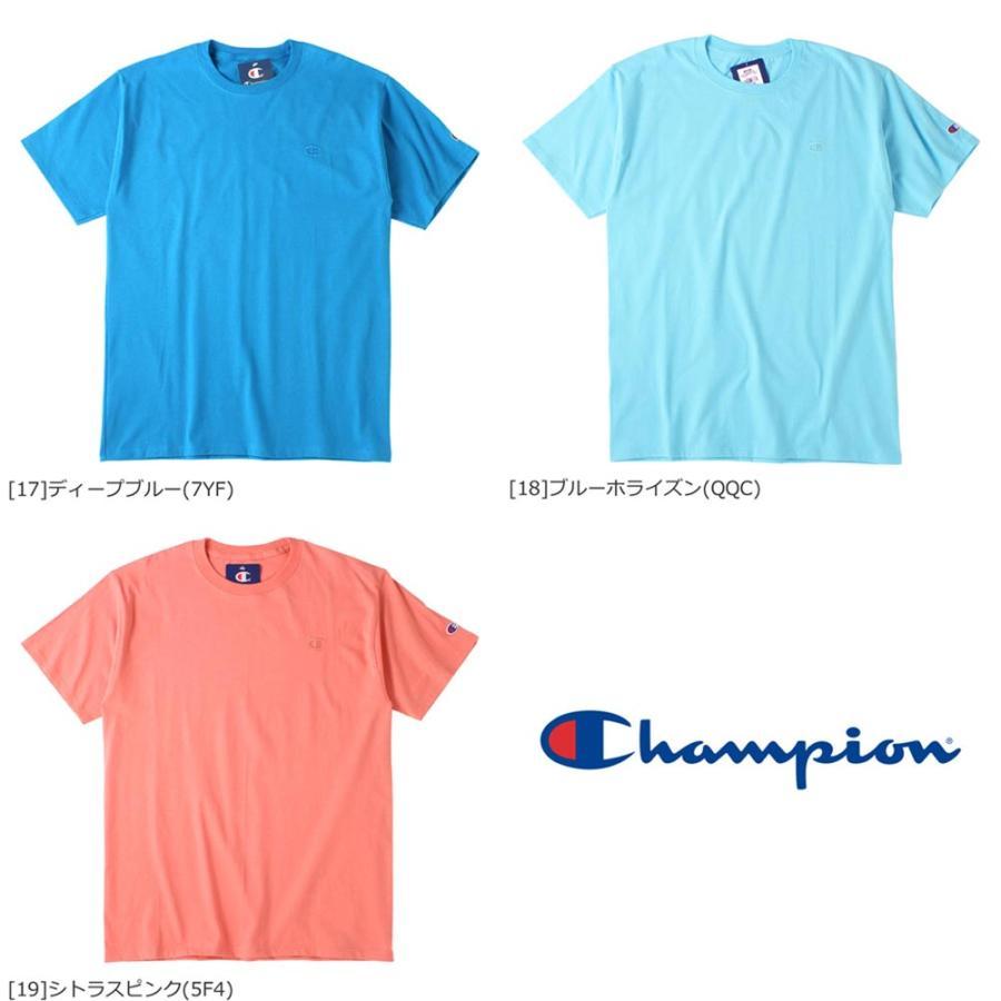 Champion チャンピオン tシャツ usa 大きいサイズ メンズ tシャツ メンズ ブランド アメカジ 刺繍ロゴ|f-box|07