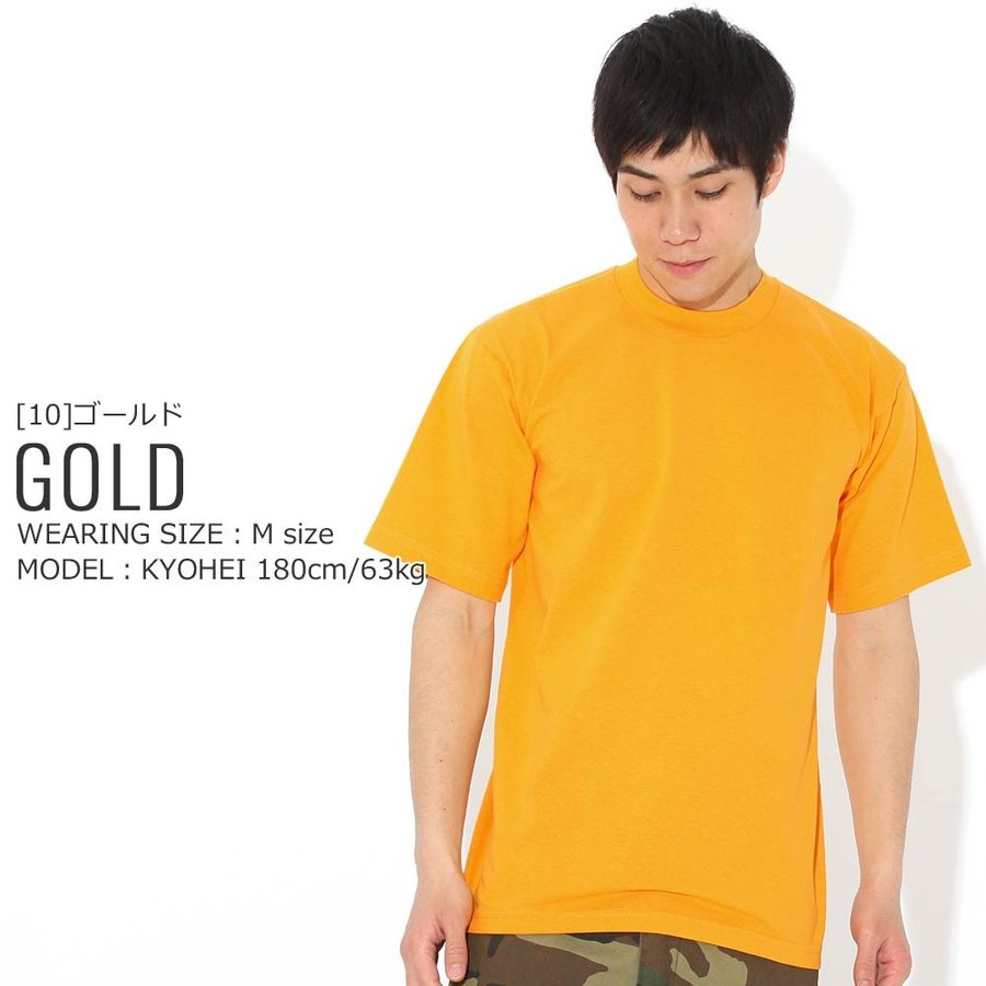 プロクラブ Tシャツ 半袖 クルーネック ヘビーウェイト 無地 メンズ 大きいサイズ 101 USAモデル ブランド PRO CLUB 半袖Tシャツ アメカジ f-box 20