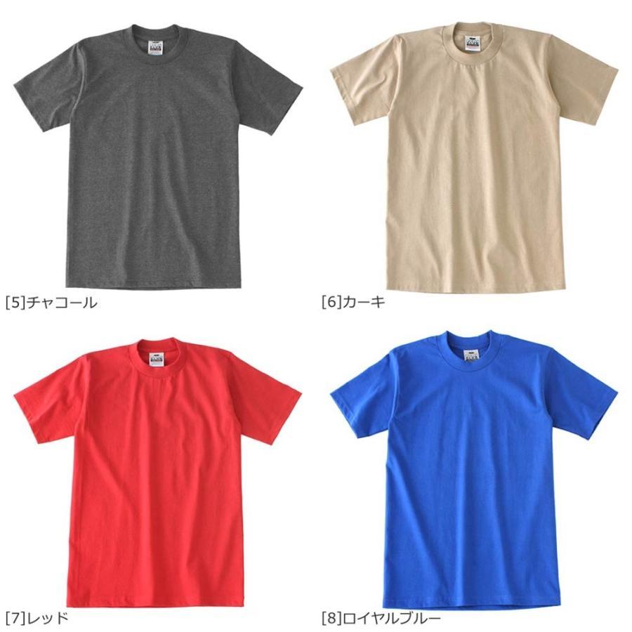 プロクラブ Tシャツ 半袖 クルーネック ヘビーウェイト 無地 メンズ 大きいサイズ 101 USAモデル ブランド PRO CLUB 半袖Tシャツ アメカジ f-box 04