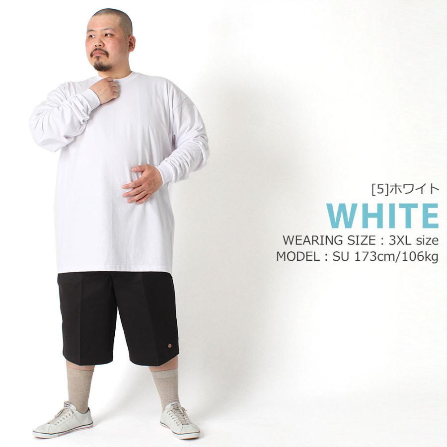 [ビッグサイズ] PRO CLUB プロクラブ ロンt メンズ ブランド ヘビーウェイト 厚手 tシャツ 長袖 無地 大きいサイズ 6.5オンス [proclub-114-big] (USAモデル)|f-box|11