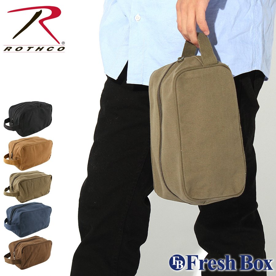 ROTHCO ロスコ バッグ メンズ ポーチ トラベルポーチ [rothco-8126] (USAモデル)|f-box