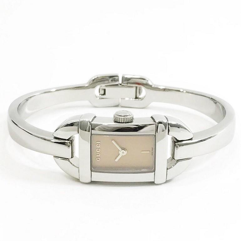 人気カラーの グッチ 腕時計 クオーツ 6800L ブレス ウォッチ レディース  美品 可動品 QZ 2針 箱有, bonita雑貨:901414a3 --- airmodconsu.dominiotemporario.com