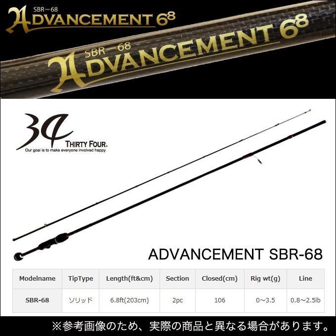 【ポイント5倍】 34(サーティーフォー) アドバンスメント (SBR-68) /(5)