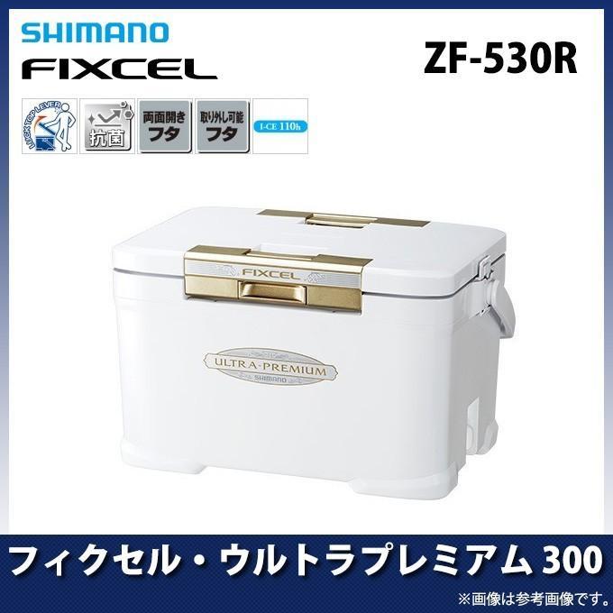 【数量限定】 シマノ フィクセル・ウルトラプレミアム 300(ZF-530R) (カラー:アイスホワイト) (クーラーボックス)(7)