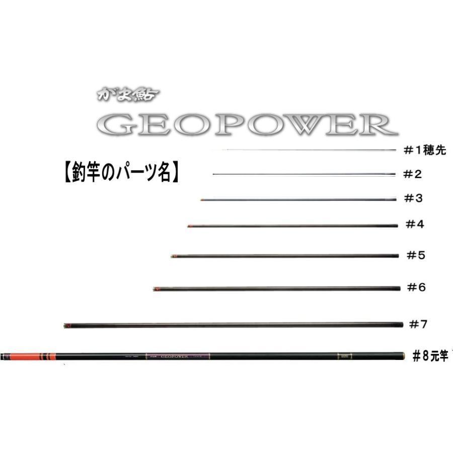23431908がま鮎ジオパワー急瀬90 #8(上から8番目節・元竿)