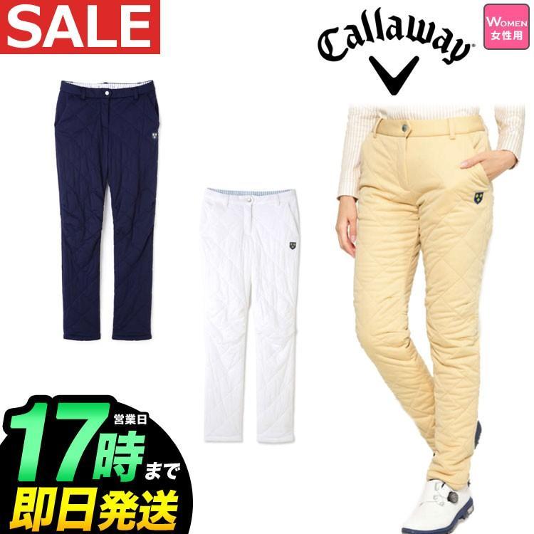 Callaway GOLF キャロウェイ ゴルフウェア 8221806 2WAY ストレッチ 中綿 パンツ (レディース)