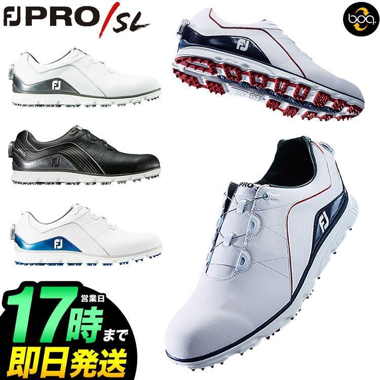 フットジョイ ゴルフシューズ <br> NEW FJ Pro/SL Boa プロSL ボア (ウィズ:W)