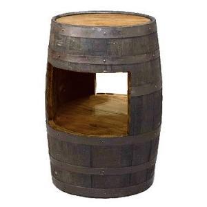 ウイスキー樽テーブル ホロウテーブル(天板無し)(ブラウン)(送料別途)(代引きはご利用出来ません) ホロウテーブル(天板無し)(ブラウン)(送料別途)(代引きはご利用出来ません)