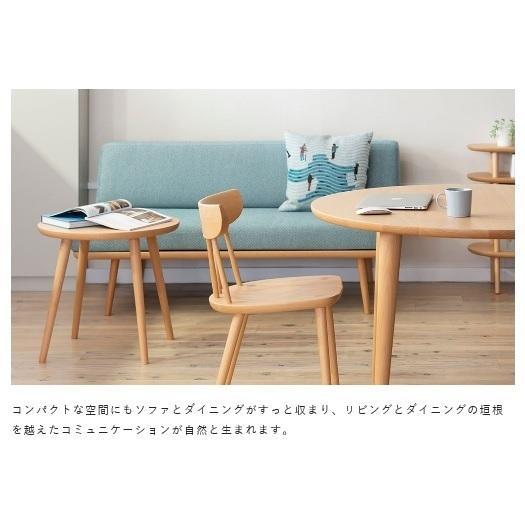 10年保証 飛騨産業製 肘なしソファ YURURI(ゆるり)SL14ON 主材:ホワイトオーク材 ポリウレタン樹脂塗装 木部:7色 張地:83色対応 開梱設置送料無料|f-room|12