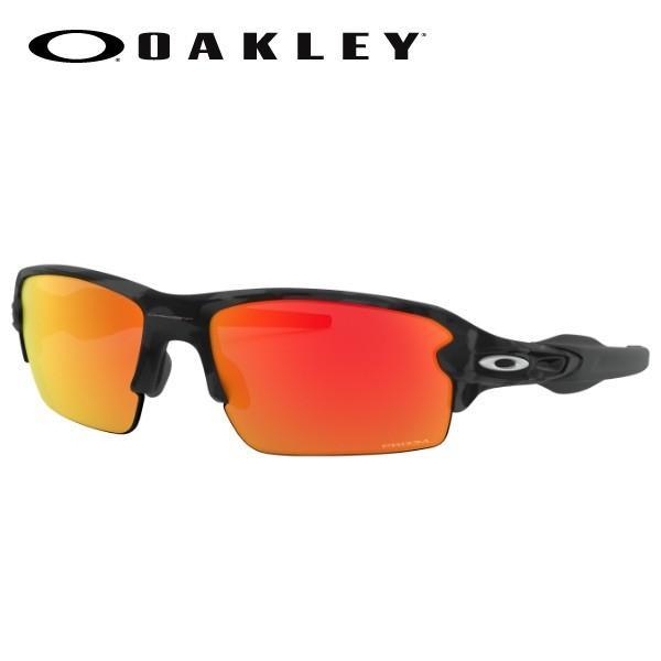 OAKLEY サングラス FLAK 2.0 (A) OO9271-2761 黒 Camo/Prizm Ruby