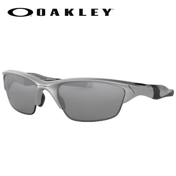 OAKLEY サングラス HALF JACKET 2.0 (A) OO9153-02 銀/Slate Iridium