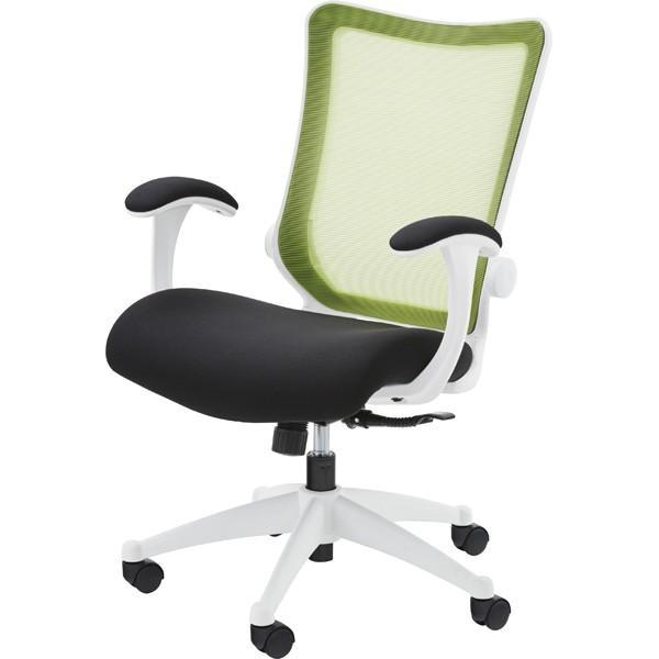 オフィスチェア キャスター付き メッシュ パソコンチェア デスクチェア デスク 学習椅子 学習チェア キッズチェア 事務椅子 グリーン