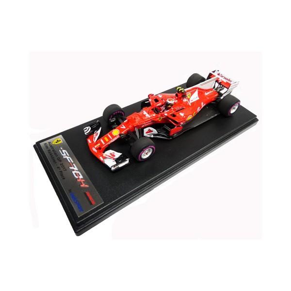 ルックスマート 1/43 K.ライコネン スクーデリア・フェラーリ SF70-H オーストラリアGP 2017