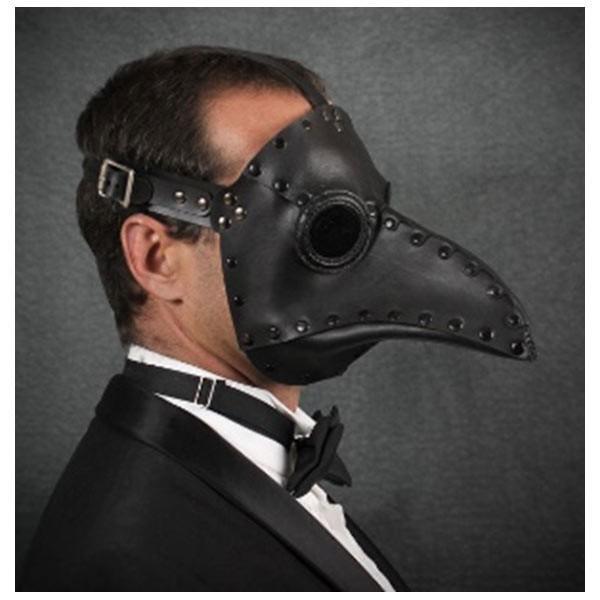 ペストマスク クランクハイト ブラック 黒