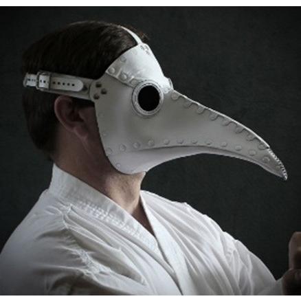 ペストマスク シュナーベル ホワイト 白