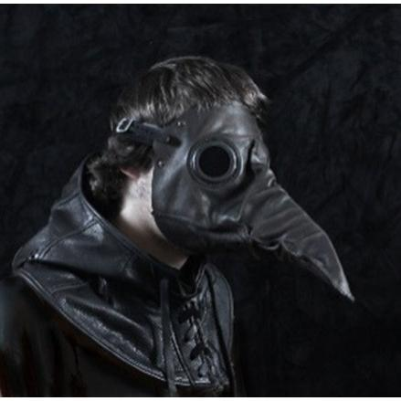 ペストマスク スティルツキン ブラック 黒